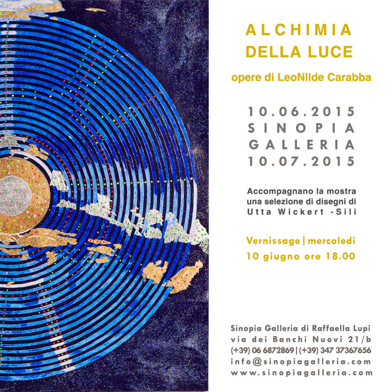 Alchimia della luce | LeoNilde Carabba